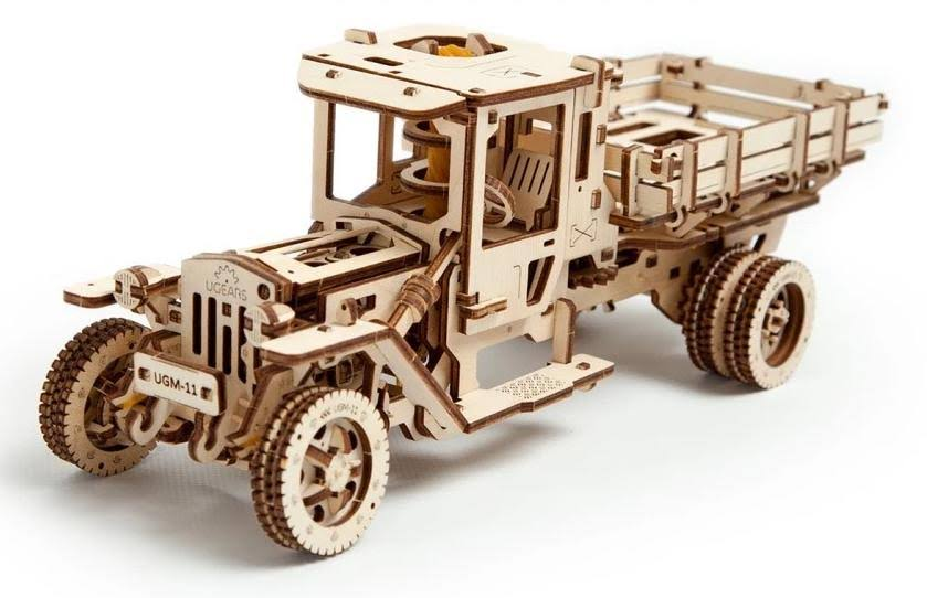 U Gears Ugm11 Mechanical Wooden Model Truck Kit