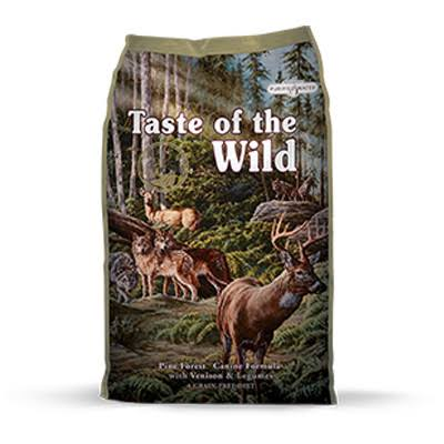 Taste of The Wild Pine Forest Dog Food 5 lbs.