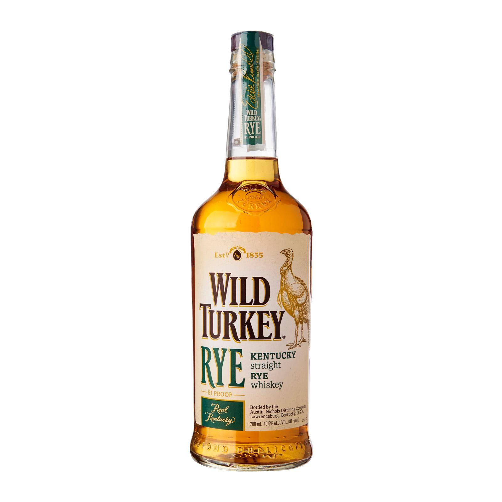 Wild Turkey Straight Rye Whiskey