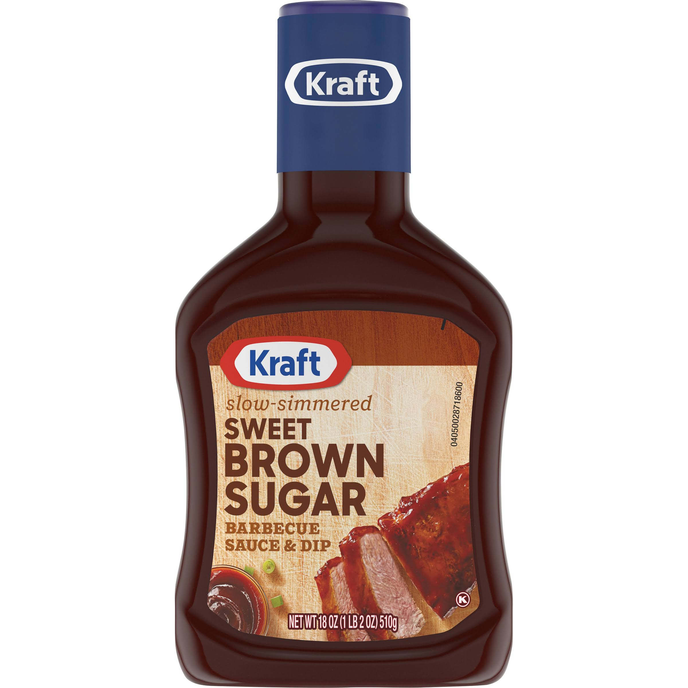Kraft Sweet Brown Sugar Barbecue Sauce and Dip - 18oz