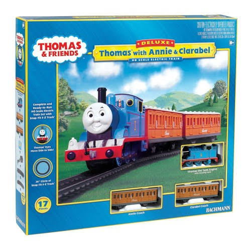 Bachmann Trains Thomas with Annie and Clarabel Ready to Run Ho Scale Train Set