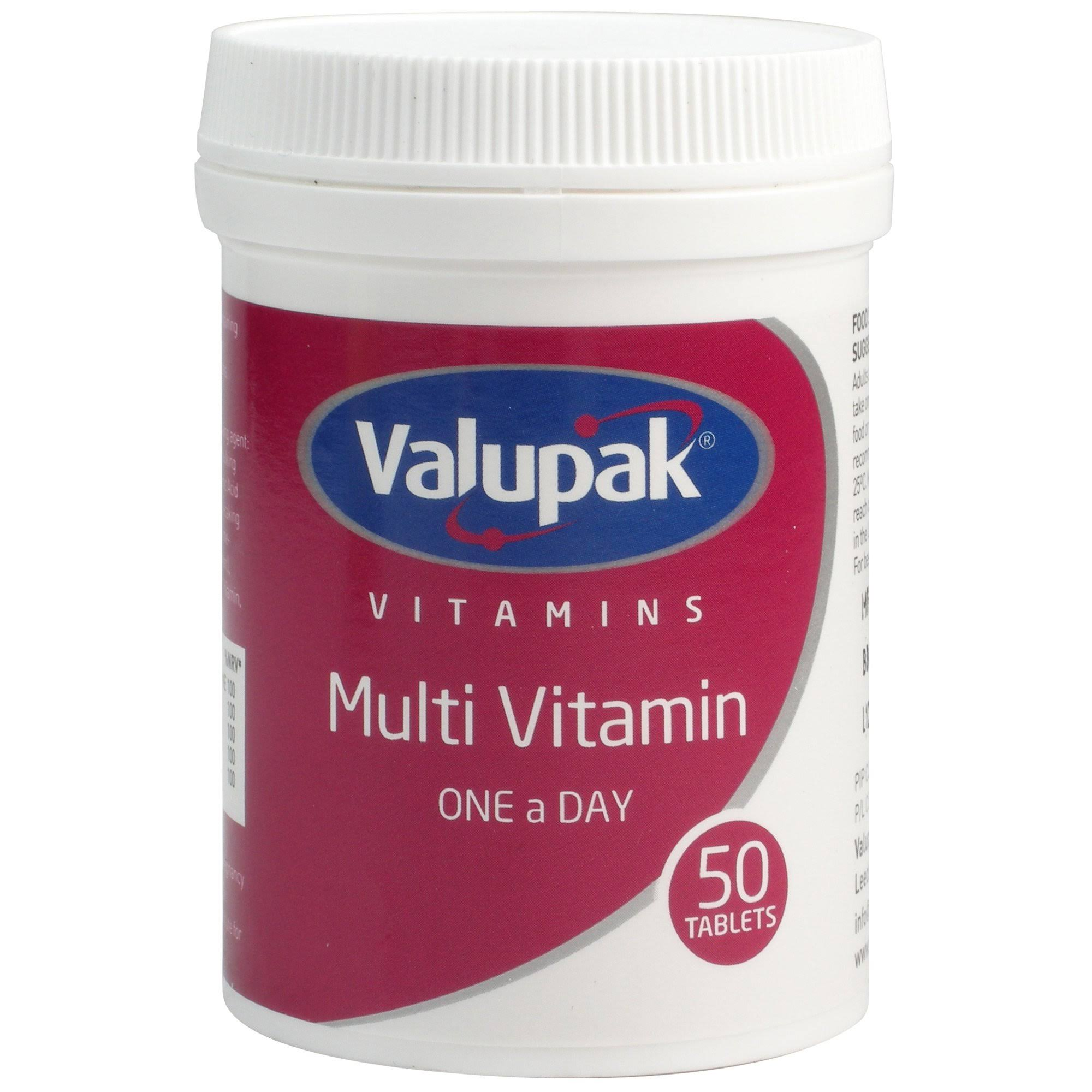 Valupak Multi Vitamin - 50 Tablets