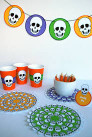 Halloween Potluck Invitation Template Free Printable by Free Printable Skeleton Halloween Table Decorations U0026 Hp