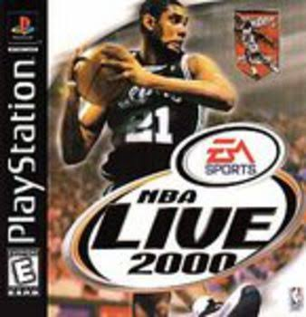 NBA Live 2000 - PlayStation 1