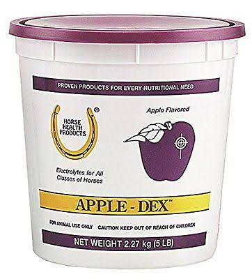Farnam Apple DEX Horse Electrolytes Equine Rehydration Supplement - 5lbs
