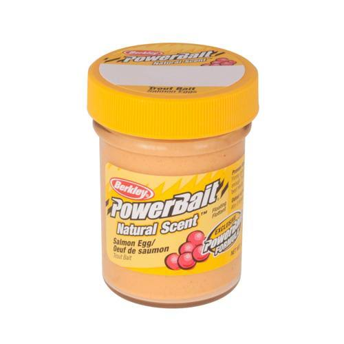 Berkley PowerBait Natural Scent Trout Bait - Salmon Peach, 1.75oz