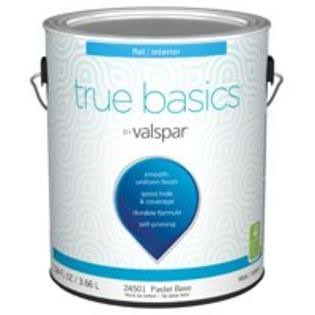 Valspar 7350721 1 Gal Flat Interior Paint - Pastel Base