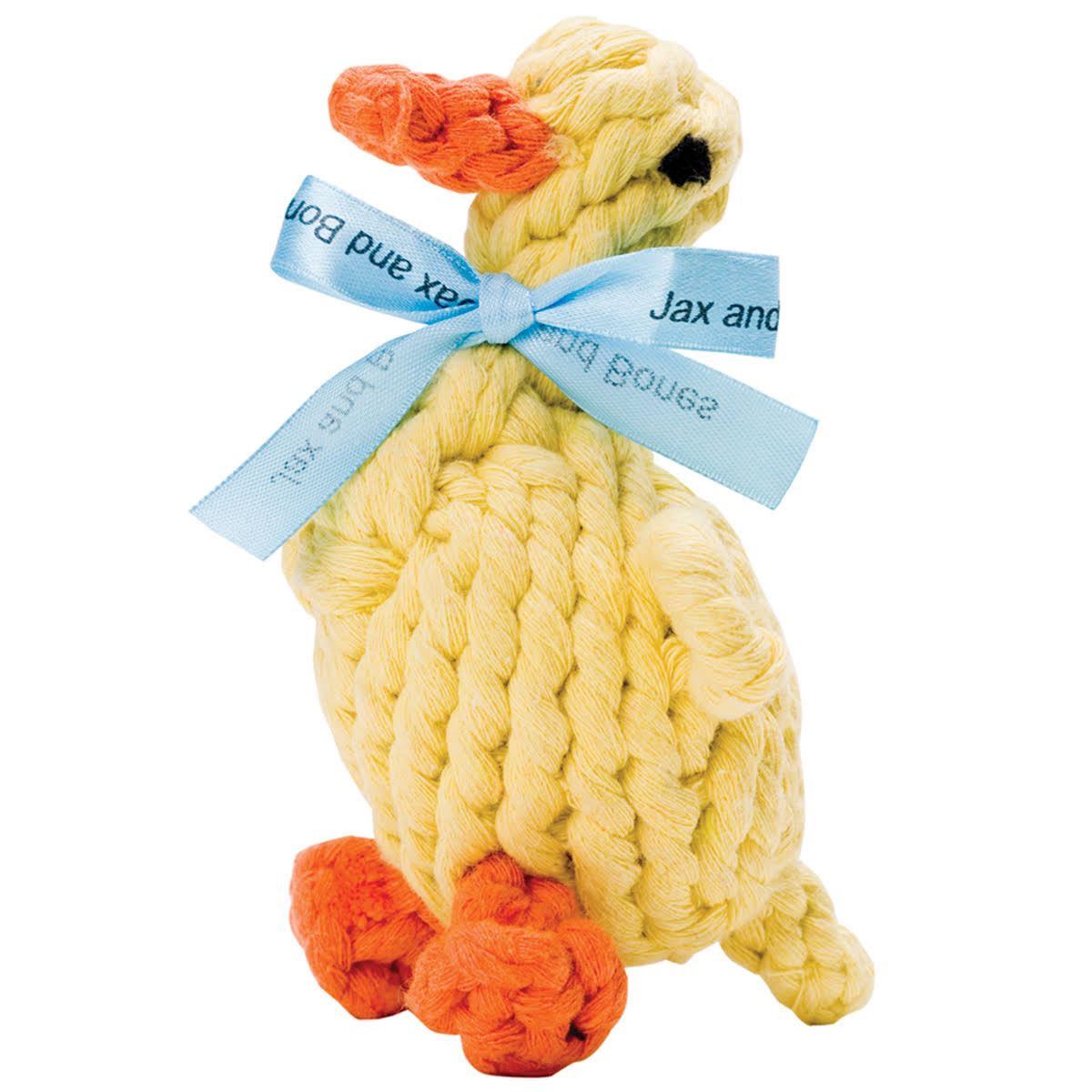 Jax and Bones Daisy The Duck Rope Toy-Small
