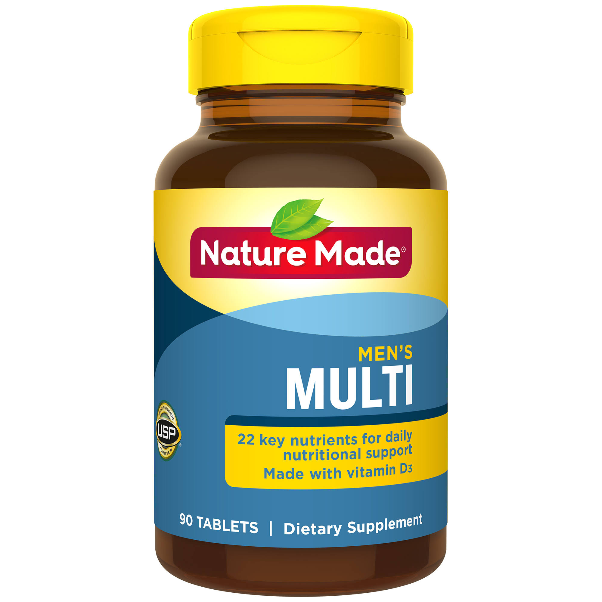 Nature Made Multi for Him Multivitamin and Multimineral Dietary Supplement - 90 Tablets
