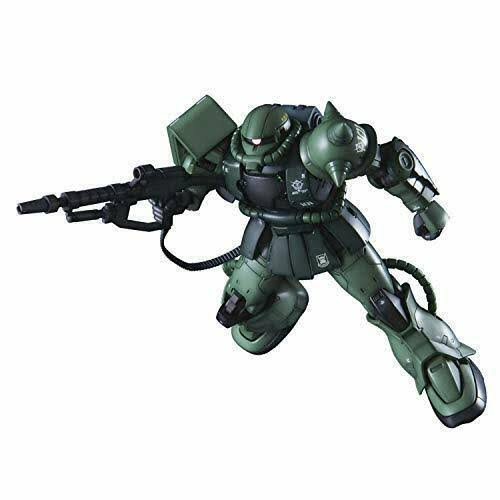 Mobile Suit Gundam The Origin Zaku II C-6 Model Kit - 1/144 Scale
