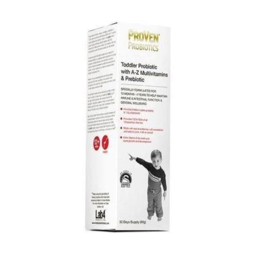 Proven Lactobacillus and Bifidus Multivitamins Prebiotic for Toddlers - 60g