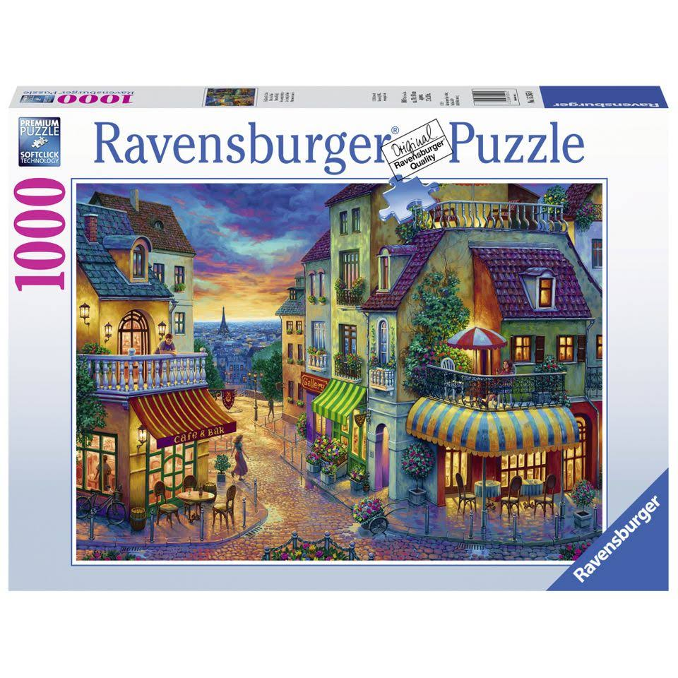 Ravensburger An Evening In Paris Jigsaw Puzzle - 1000 Pieces