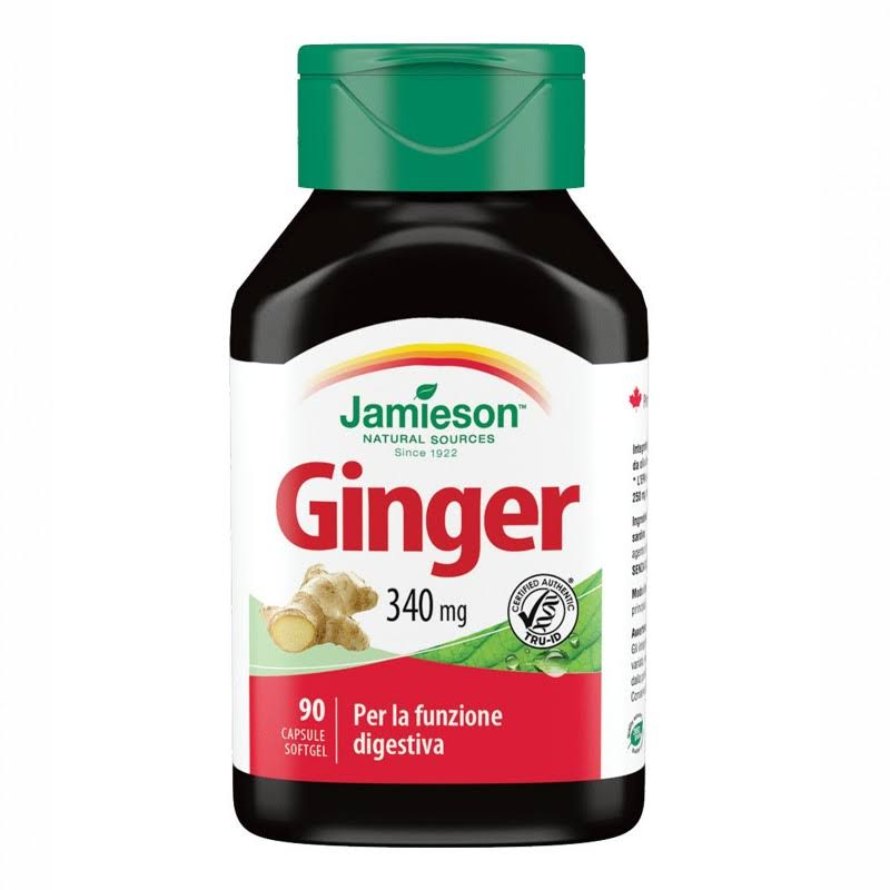 Jamieson Ginger 340mg Softgels - x30