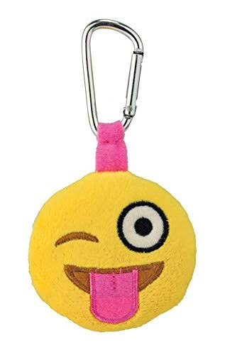Kids Preferred Emoji Backpack Clip, Silly Wink