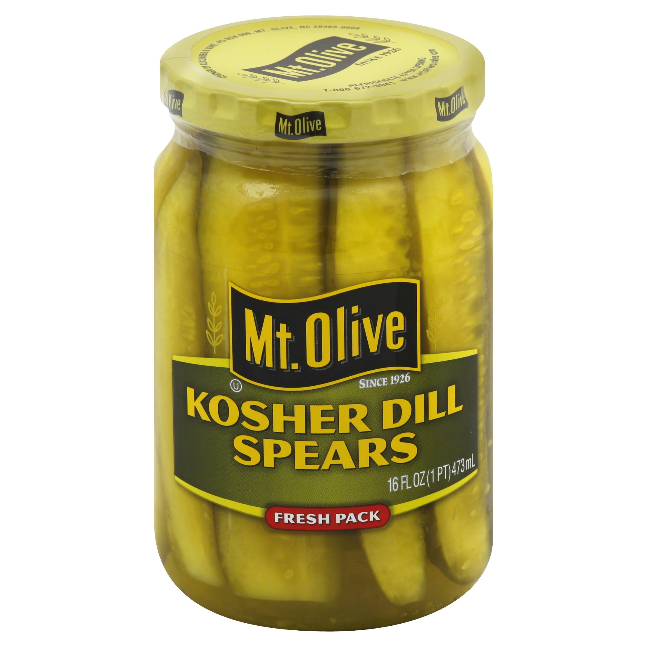 Mt. Olive Kosher Dill Spears - 16oz