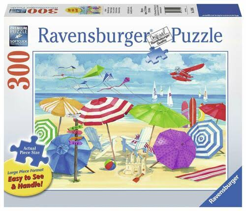 Ravensburger Meet Me at the Beach Jigsaw Puzzles - 300pcs