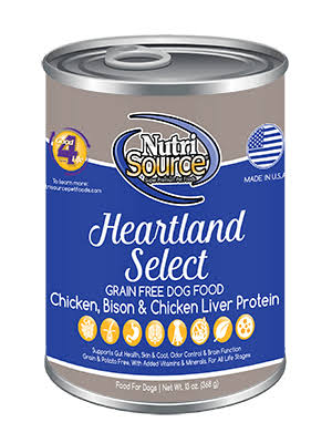 Tuffy Pet Products Nutri Source Heartland Secret Dog Food - 368g