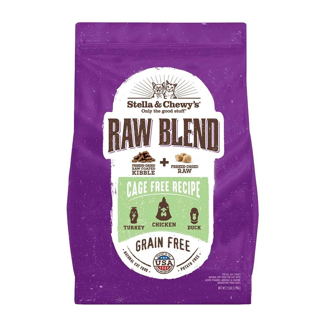 Stella & Chewy's Raw Blend Cage Free Recipe Dry Cat Food 2.5 lbs