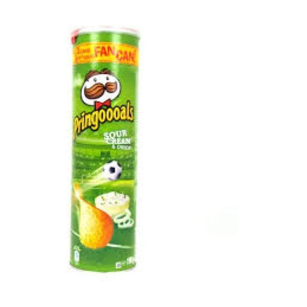 Pringles Sour Cream & Onion 2.49 - 6 x 200gm