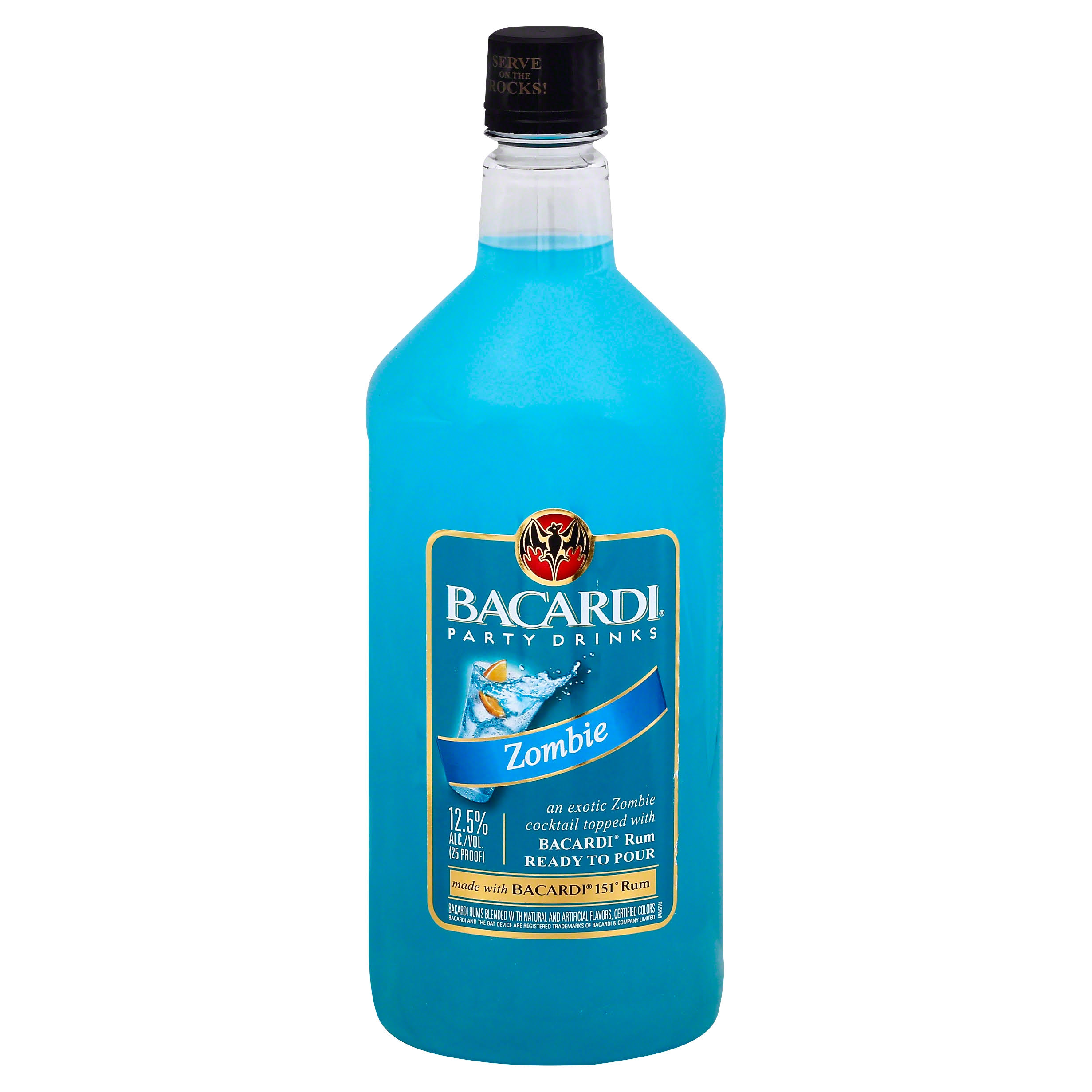 Bacardi Party Drinks Zombie - 1.75 lt