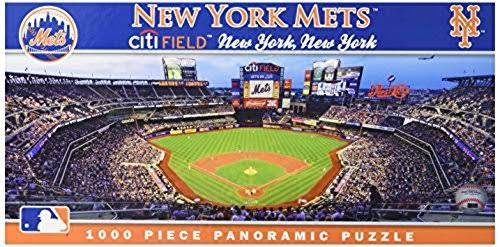 Masterpieces New York Mets Panoramic Puzzle