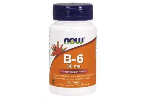 Now Foods B-6 50mg, x100