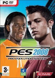 Pro Evolution Soccer 2008 لعبة كاملة كرة قدم للمحترفين فقط بحجم 134 mb فقط