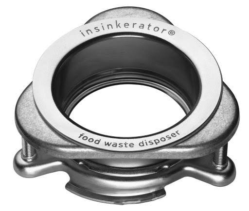 In Sink Erator Sink Flange Quick Lock Mount - Stainless Steel