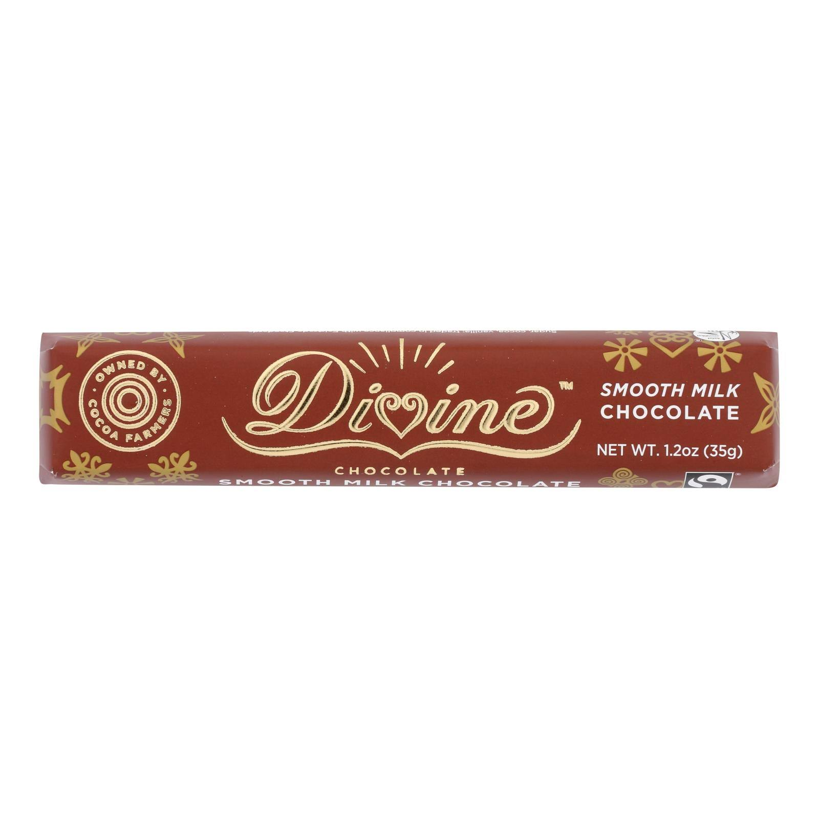 Divine Smooth Milk Chocolate - 1.2oz