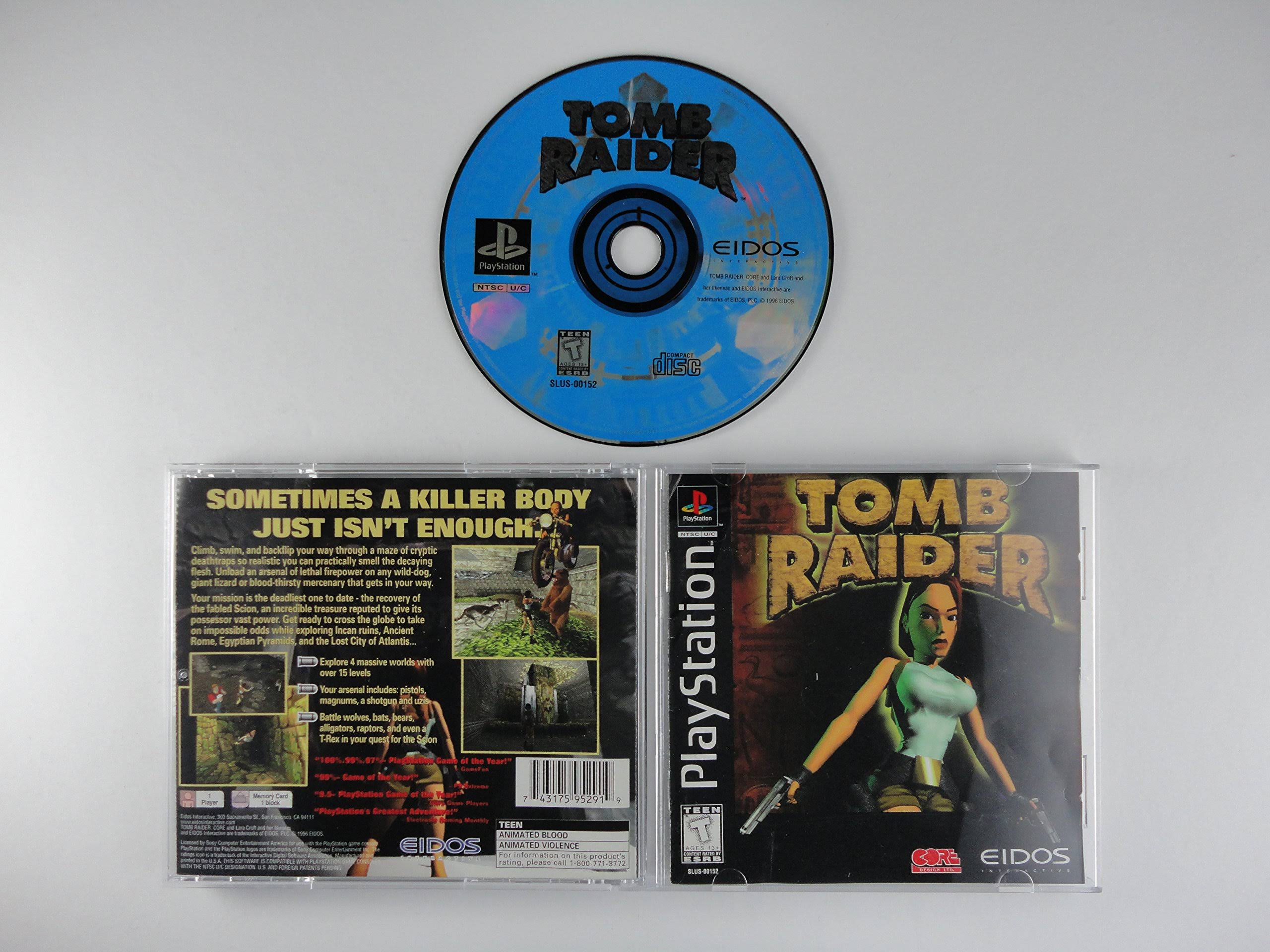 Tomb Raider - Playstation