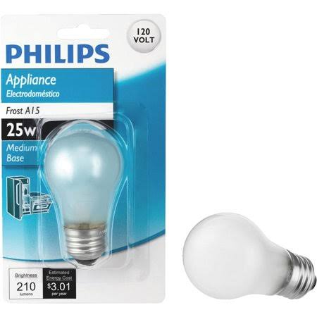 Philips A15 Incandescent Appliance Light Bulb 470385