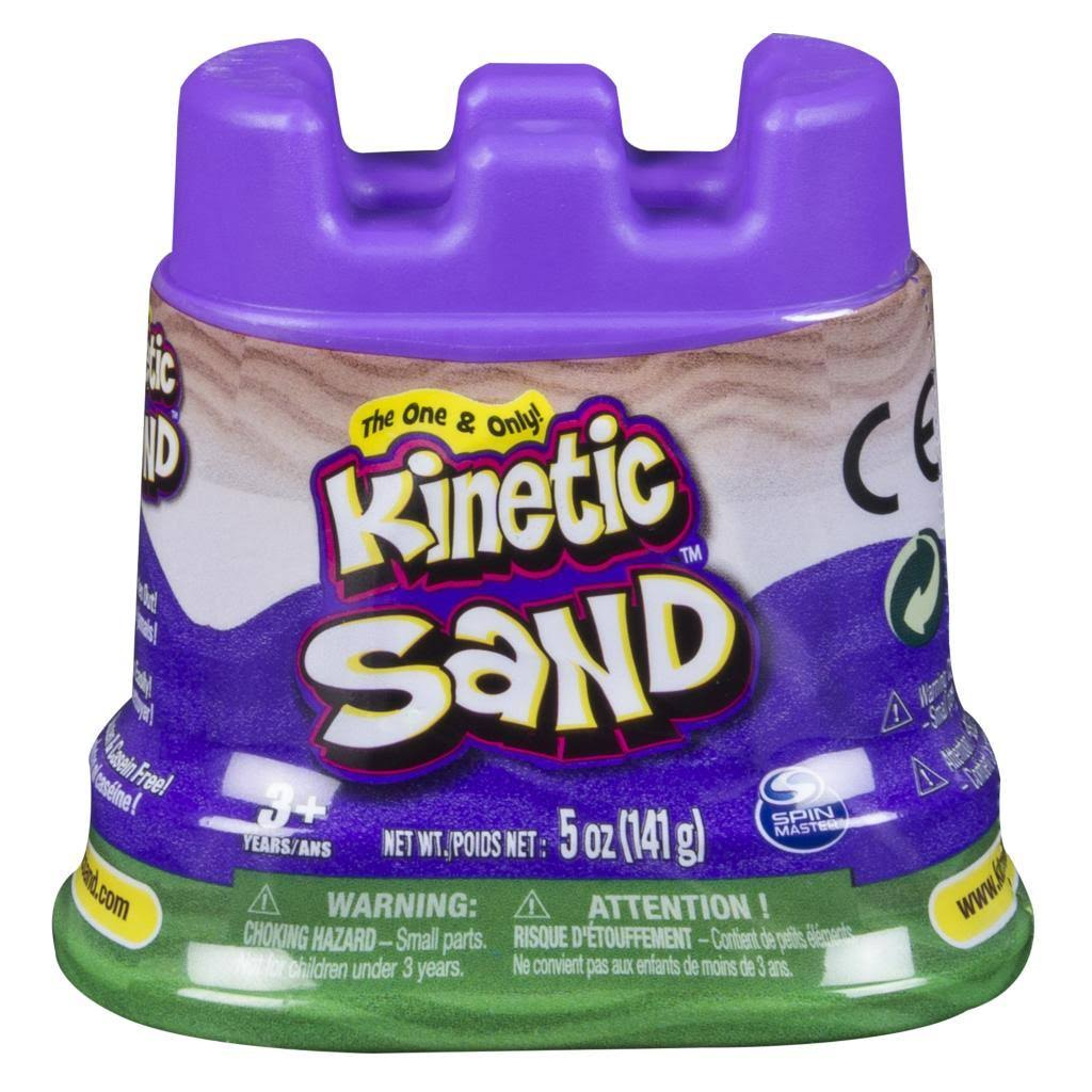Kinetic Sand Single Container - Green, 5oz