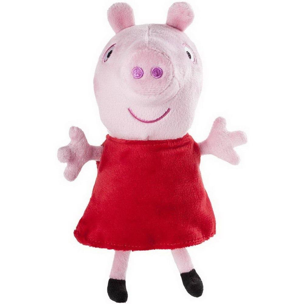 Peppa Pig Small Plush With Sound - 18cm