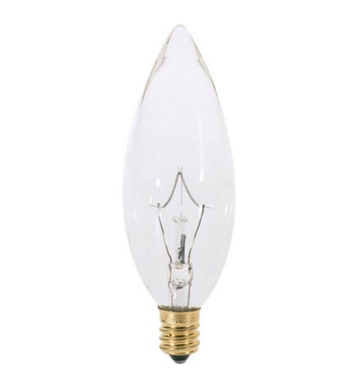 Satco S3784 Torpedo Tip Decorative Light Bulb - 60W