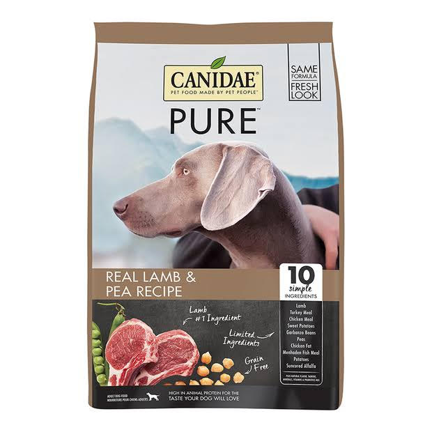 Canidae Grain Free Pure Elements Dry Dog Food - Fresh Lamb, 12 lbs