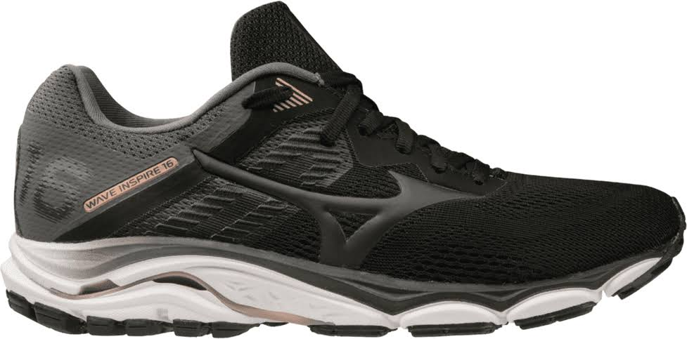 Mizuno Men's Wave Inspire 16 Black / 12.5