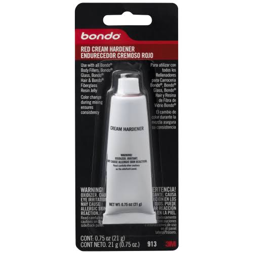 3M Bondo Cream Hardener - Red, 20ml
