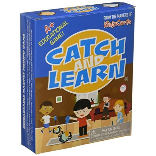 PlaSmart Catch and Learn The Educational Fishing Game Box Set
