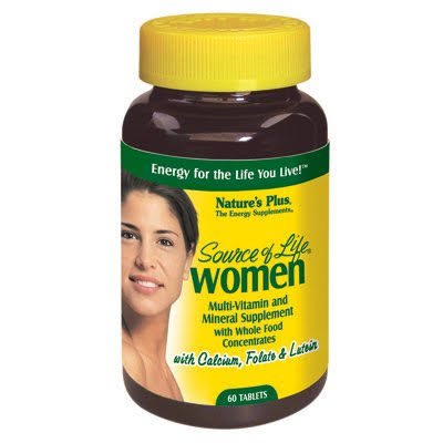 Nature's Plus Source of Life for Women Tablets - 60 count