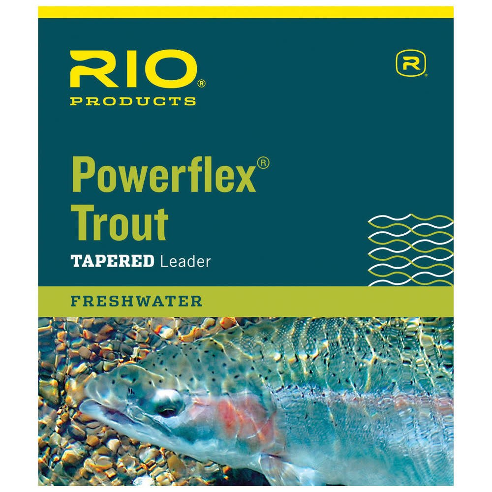 Rio Powerflex Trout Leader 9ft / 1X