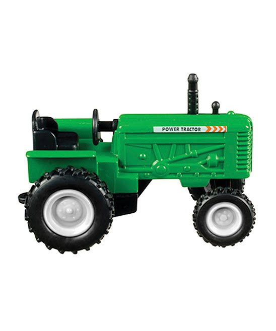 Toysmith 4 inch Farm Tractor, Red