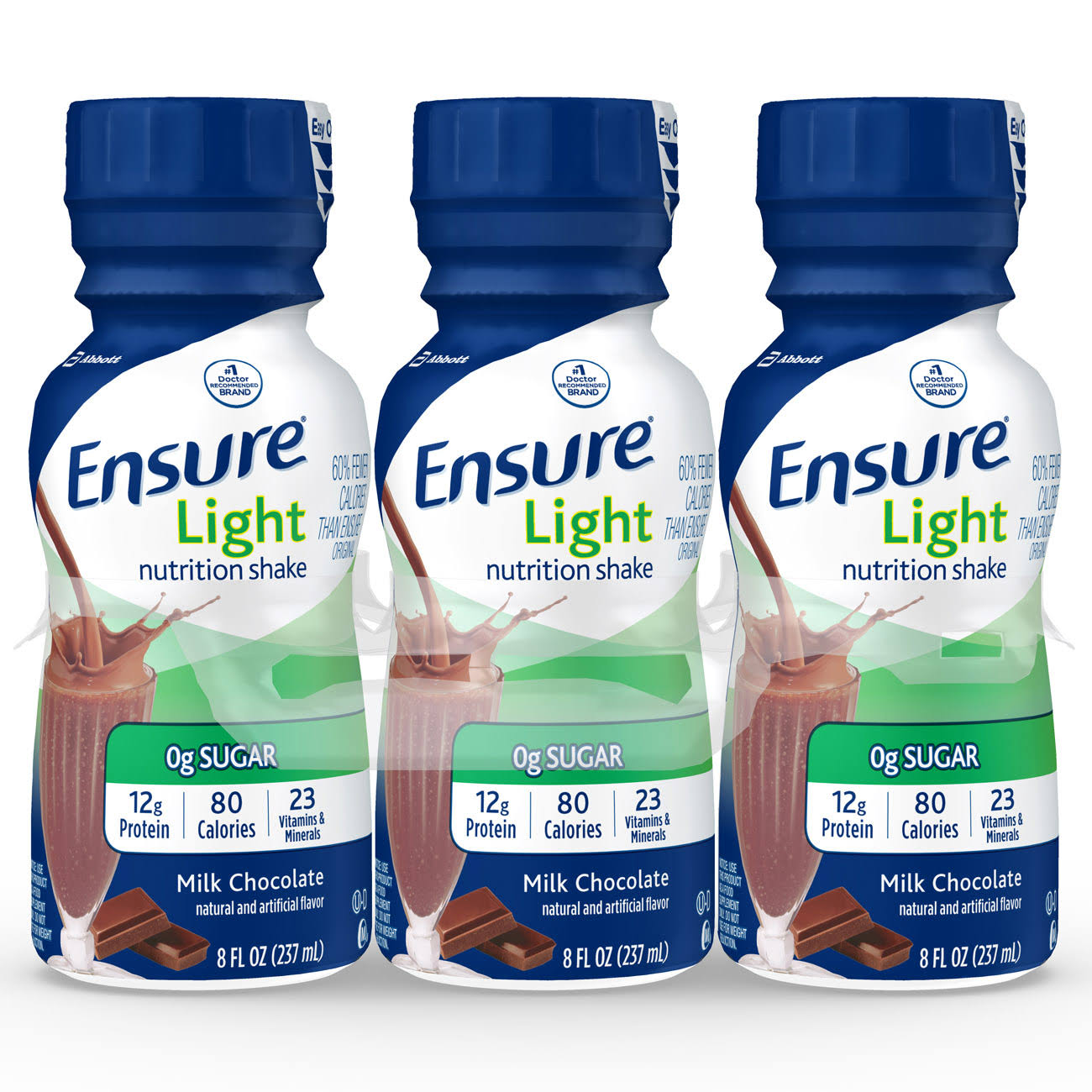 Ensure Light Nutrition Shakes - Milk Chocolate, 8oz
