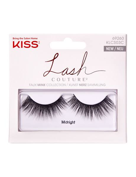 Kiss Couture Singles False Lashes - Midnight