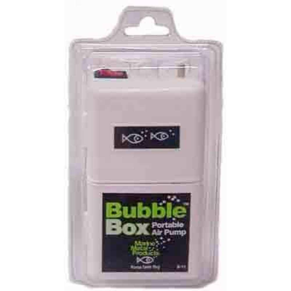 Marine Metal Bubble Box Portable Air Pump