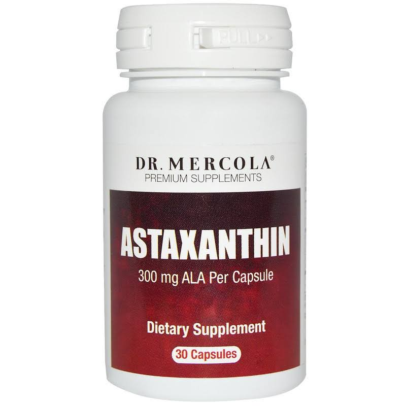 Dr. Mercola Astaxanthin Dietary Supplement - 30 Capsules