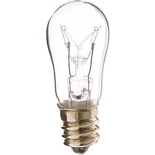 Satco S6 Clear Candelabra Base Incandescent Bulb - 6W