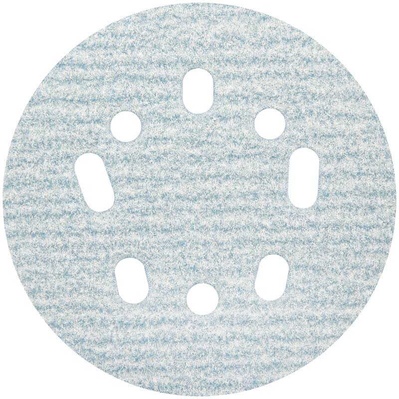 Norton Prosand Ceramic Alumina Hook and Loop 5 and 8 Hole Uvh Sanding Disc - 180 Grit, 5""