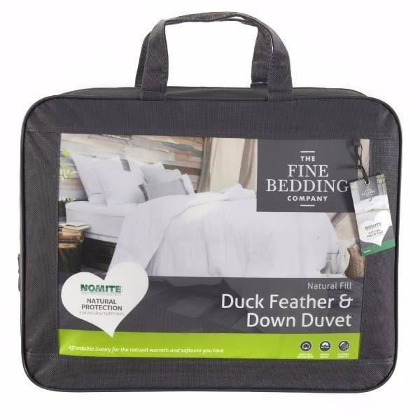 The Fine Bedding Company Duck Feather & Down Duvet - 10.5 Tog - King