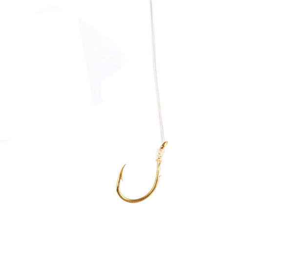 Eagle Claw Salmon Egg Sliced Hook - Gold