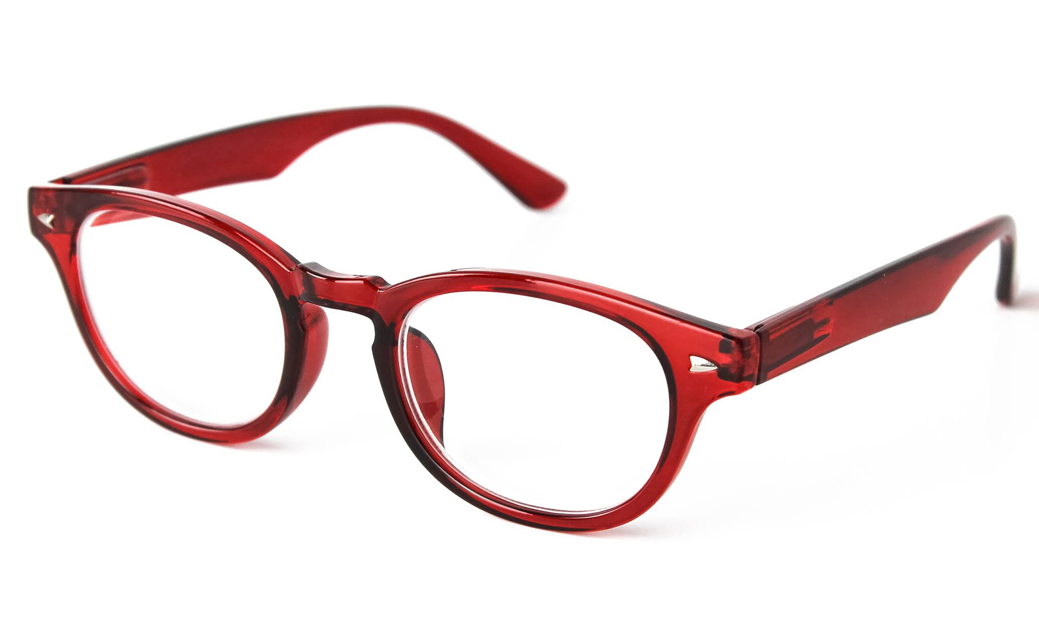 Optimum Optical Women's Red Fairway Reader 1.75